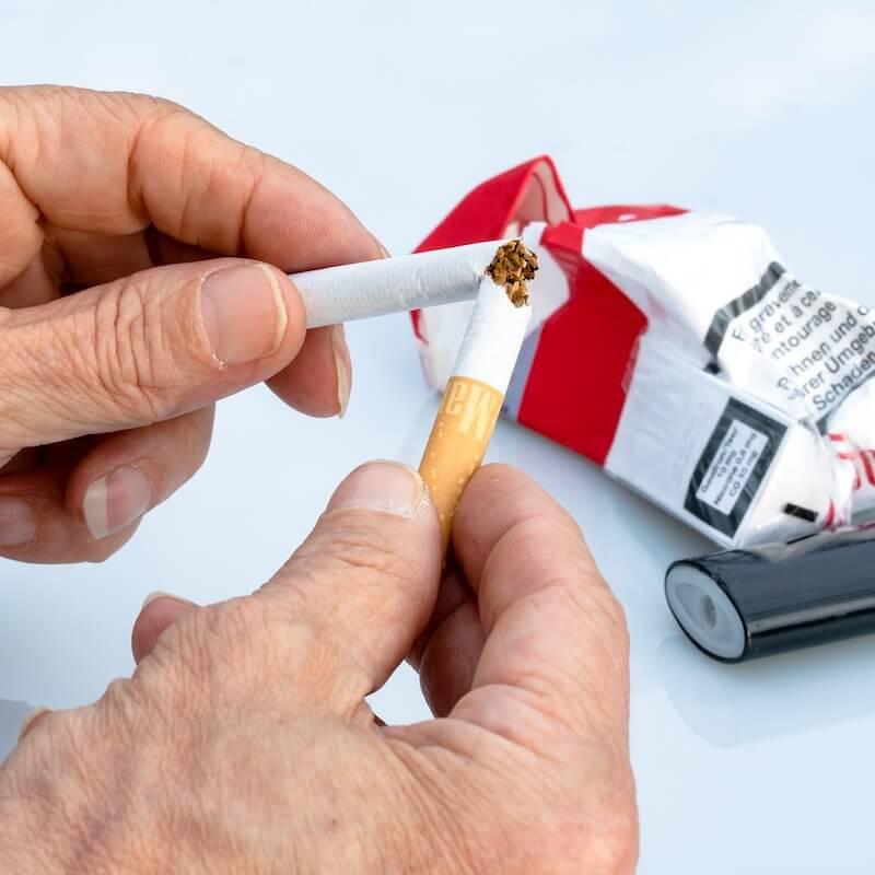Rauchen einstellen